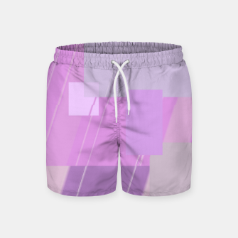 Miniature de image de Rectangles in rose Swim Shorts, Live Heroes