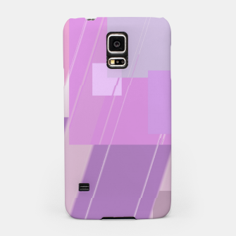 Thumbnail image of Rectangles in rose Samsung Case, Live Heroes