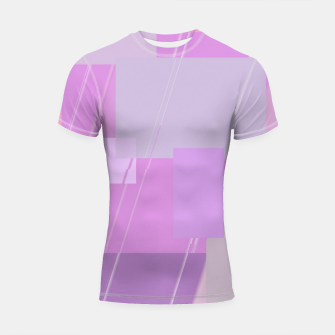 Miniature de image de Rectangles in rose Shortsleeve rashguard, Live Heroes