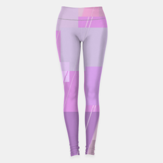 Miniature de image de Rectangles in rose Leggings, Live Heroes