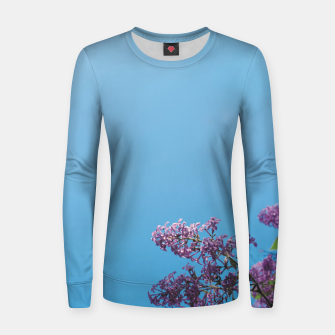 Thumbnail image of Lilac Women sweater, Live Heroes