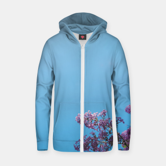 Thumbnail image of Lilac Zip up hoodie, Live Heroes