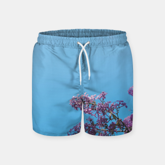 Thumbnail image of Lilac Swim Shorts, Live Heroes