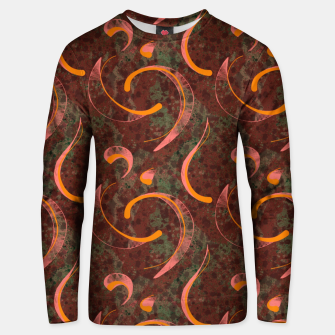 Thumbnail image of Grunge Reds Unisex sweater, Live Heroes
