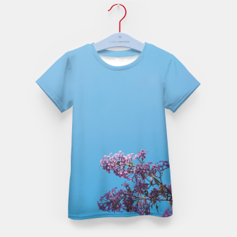 Thumbnail image of Lilac Kid's t-shirt, Live Heroes