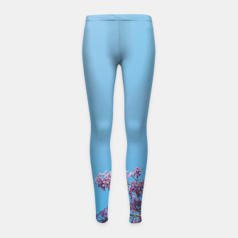 Thumbnail image of Lilac Girl's leggings, Live Heroes
