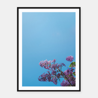 Thumbnail image of Lilac Framed poster, Live Heroes