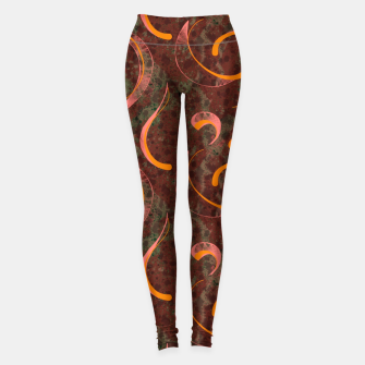 Thumbnail image of Grunge Reds Leggings, Live Heroes