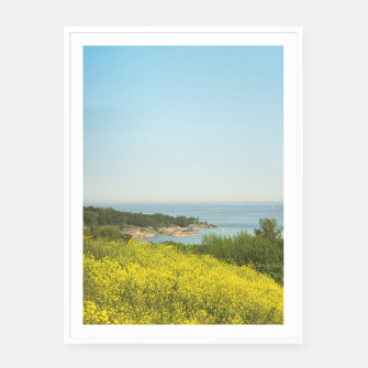 Thumbnail image of Island Framed poster, Live Heroes