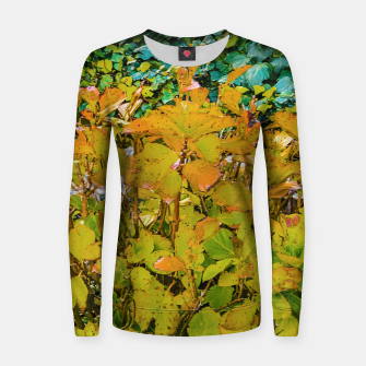 Miniature de image de Colored Nature Print Women sweater, Live Heroes