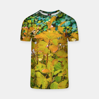 Miniature de image de Colored Nature Print T-shirt, Live Heroes