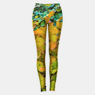 Miniature de image de Colored Nature Print Leggings, Live Heroes