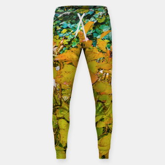 Miniature de image de Colored Nature Print Sweatpants, Live Heroes