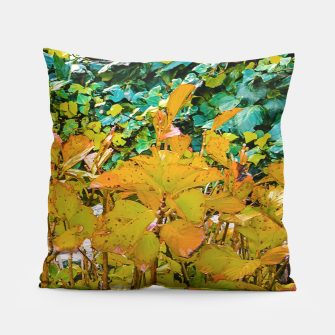 Miniature de image de Colored Nature Print Pillow, Live Heroes