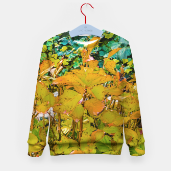 Miniature de image de Colored Nature Print Kid's sweater, Live Heroes
