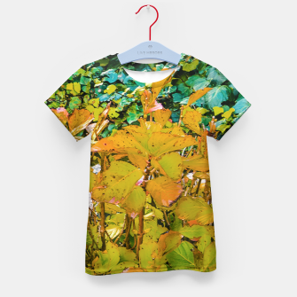 Miniature de image de Colored Nature Print Kid's t-shirt, Live Heroes