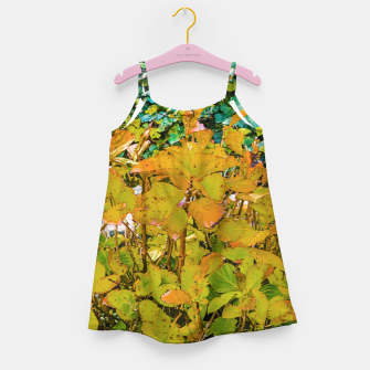 Miniature de image de Colored Nature Print Girl's dress, Live Heroes