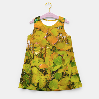 Miniature de image de Colored Nature Print Girl's summer dress, Live Heroes