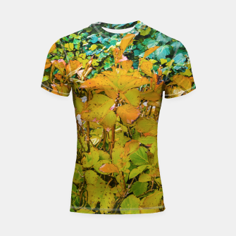 Miniature de image de Colored Nature Print Shortsleeve rashguard, Live Heroes