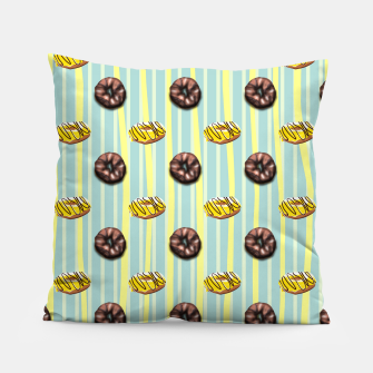 Thumbnail image of cute donut Pillow, Live Heroes