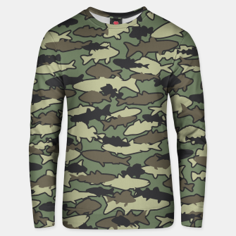 Thumbnail image of Fish Camo JUNGLE Unisex sweater, Live Heroes