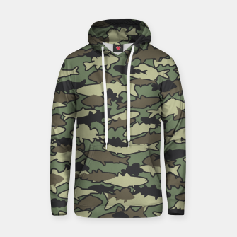 Thumbnail image of Fish Camo JUNGLE Hoodie, Live Heroes