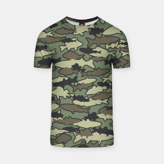 Thumbnail image of Fish Camo JUNGLE T-shirt, Live Heroes