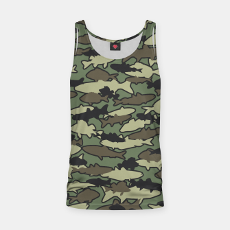 Thumbnail image of Fish Camo JUNGLE Tank Top, Live Heroes