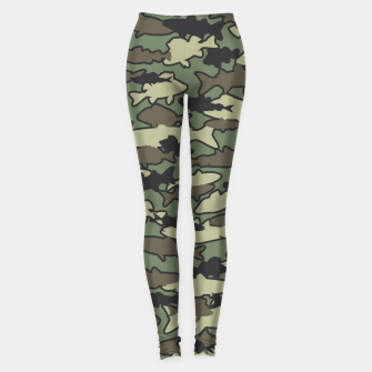 Thumbnail image of Fish Camo JUNGLE Leggings, Live Heroes