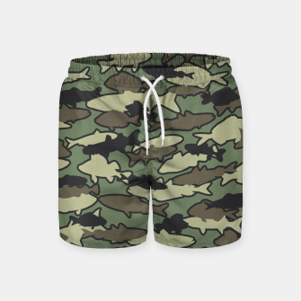 Thumbnail image of Fish Camo JUNGLE Swim Shorts, Live Heroes