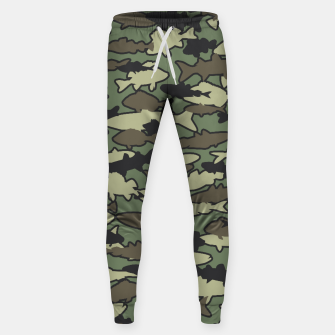 Thumbnail image of Fish Camo JUNGLE Sweatpants, Live Heroes