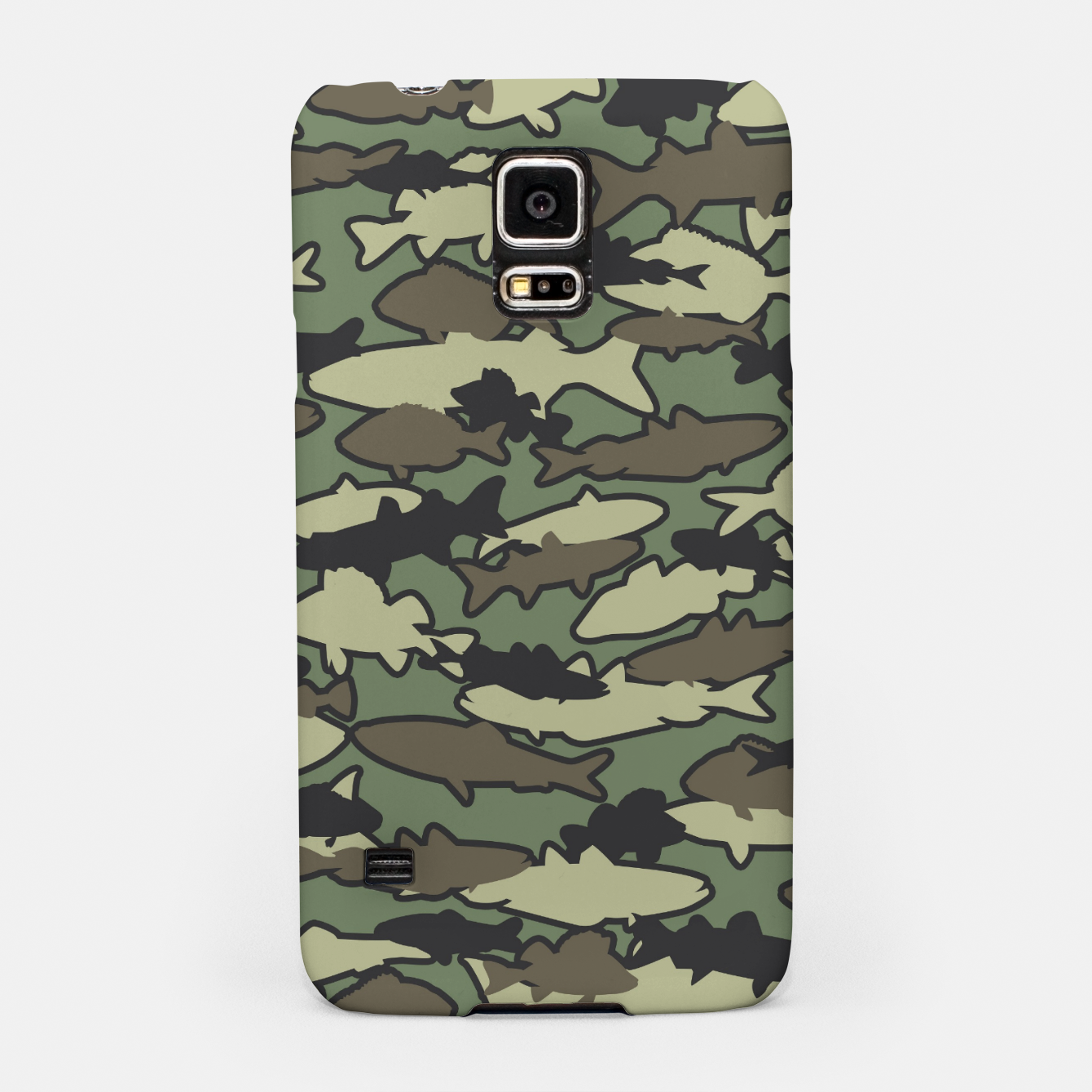 Image of Fish Camo JUNGLE Samsung Case - Live Heroes