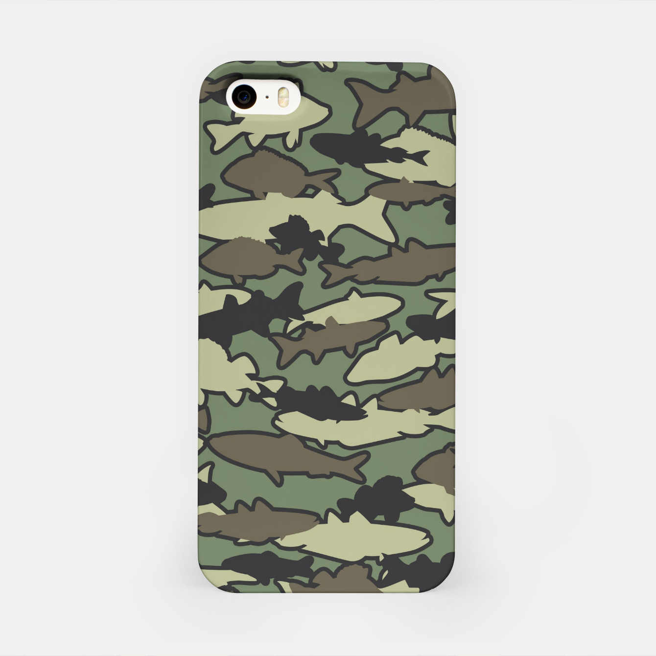Image of Fish Camo JUNGLE iPhone Case - Live Heroes