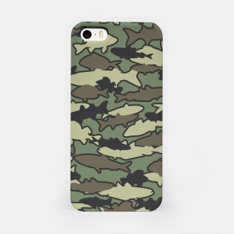 Fish Camo JUNGLE iPhone Case thumbnail image