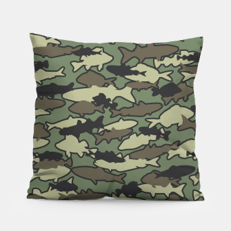 Thumbnail image of Fish Camo JUNGLE Pillow, Live Heroes