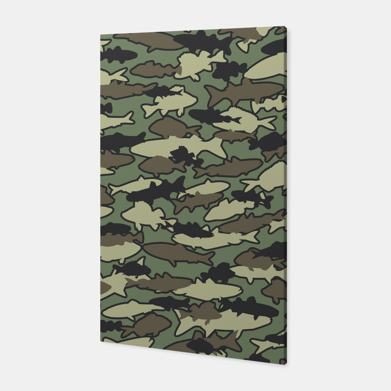 Image of Fish Camo JUNGLE Canvas - Live Heroes