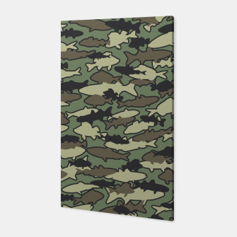 Thumbnail image of Fish Camo JUNGLE Canvas, Live Heroes