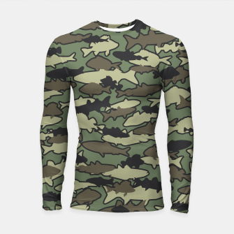 Thumbnail image of Fish Camo JUNGLE Longsleeve rashguard , Live Heroes