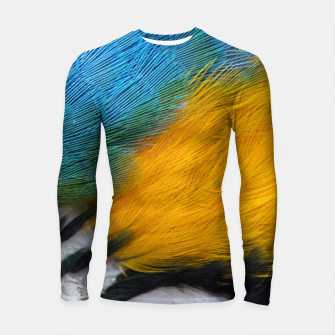 Thumbnail image of Macaw close up Longsleeve rashguard, Live Heroes