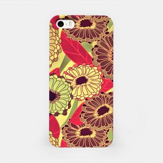 Thumbnail image of Fantasy Zinnias no. 2 iPhone Case, Live Heroes