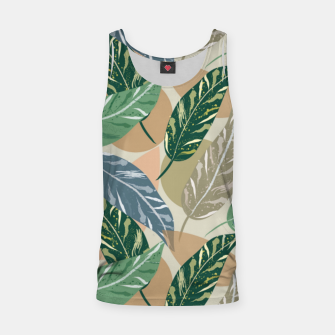 Miniatur Shell Ginger Leaves Tank Top, Live Heroes