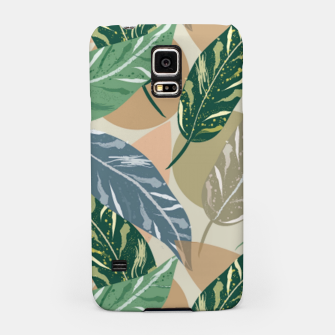 Miniatur Shell Ginger Leaves Samsung Case, Live Heroes