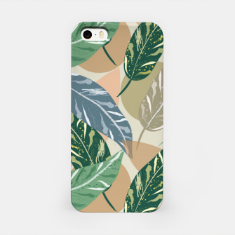 Miniatur Shell Ginger Leaves iPhone Case, Live Heroes