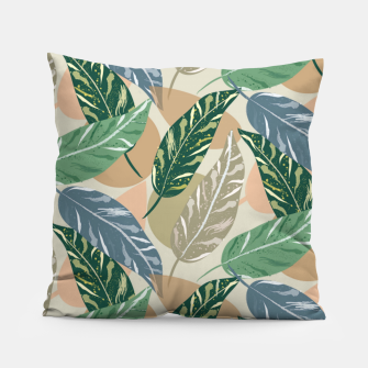 Miniatur Shell Ginger Leaves Pillow, Live Heroes