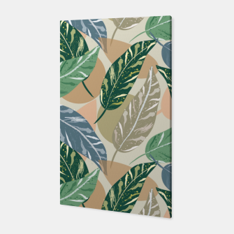 Miniatur Shell Ginger Leaves Canvas, Live Heroes