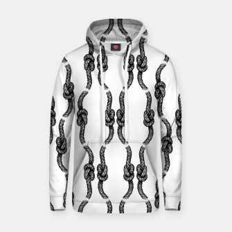 Thumbnail image of Figure of Eight Knot Pattern Hoodie, Live Heroes