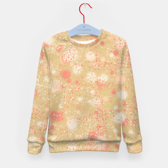 Thumbnail image of Splattered Dots Kid's sweater, Live Heroes