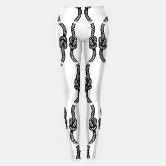 Thumbnail image of Figure of Eight Knot Pattern Leggings, Live Heroes