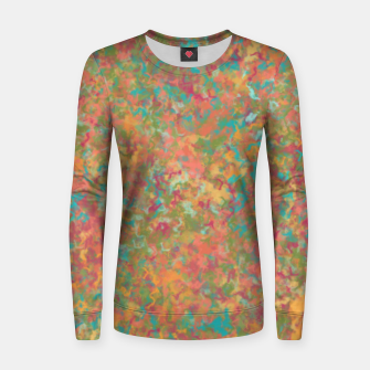 Thumbnail image of Peacock Marble Women sweater, Live Heroes