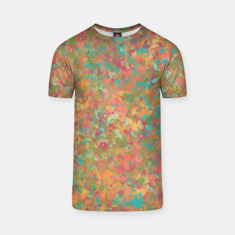 Thumbnail image of Peacock Marble T-shirt, Live Heroes